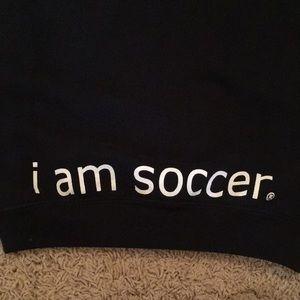 "Shirts & Tops - Beast ""I am soccer"" Hoodie"